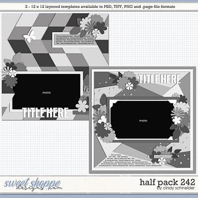 Cindy's Layered Templates - Half Pack 242 by Cindy Schneider