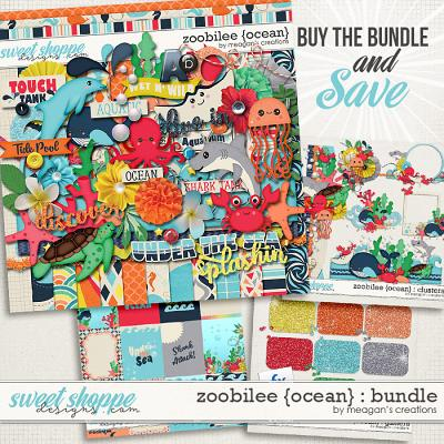 Zoobilee {Ocean} : Bundle by Meagan's Creations