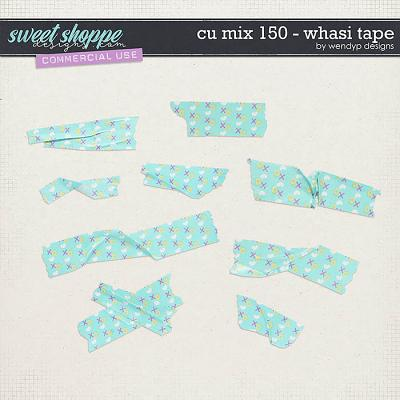 CU Mix 150 - X&O Washitape by WendyP Designs