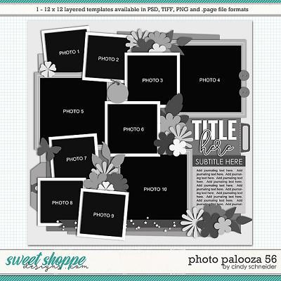 Cindy's Layered Templates - Photo Palooza 56 by Cindy Schneider