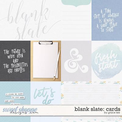 Blank Slate: Cards by Grace Lee