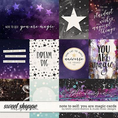 Note To Self: You Are Magic Cards by Kristin Cronin-Barrow & Studio Basic