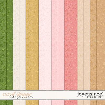 Joyeux Noel: Shimmers by Amber Shaw