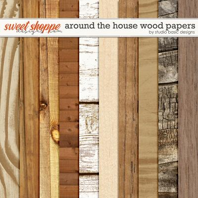 Around The House Wood Papers by Studio Basic