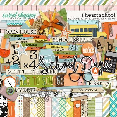 I Heart School by Kelly Bangs Creative & Libby Pritchett