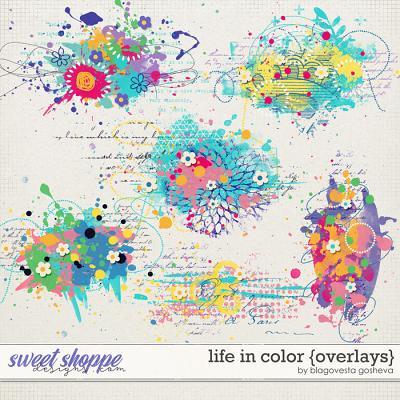 Life in Color {overlays} by Blagovesta Gosheva