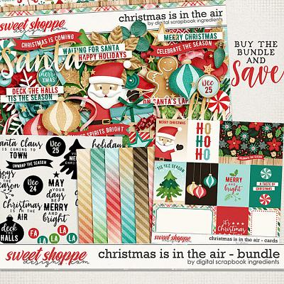 Christmas Is In The Air Bundle by Digital Scrapbook Ingredients