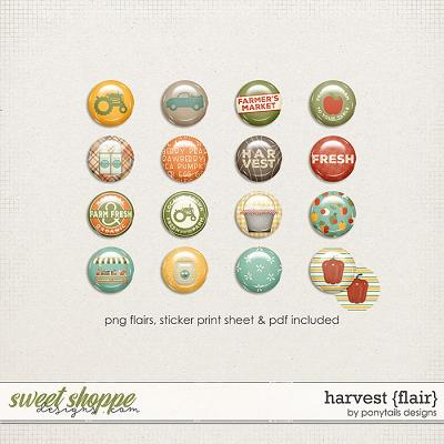 Harvest Flair by Ponytails