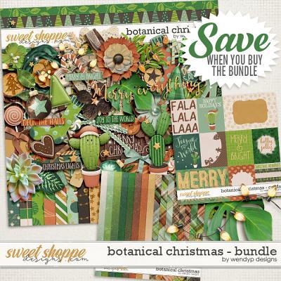 Botanical Christmas - bundle by WendyP Designs