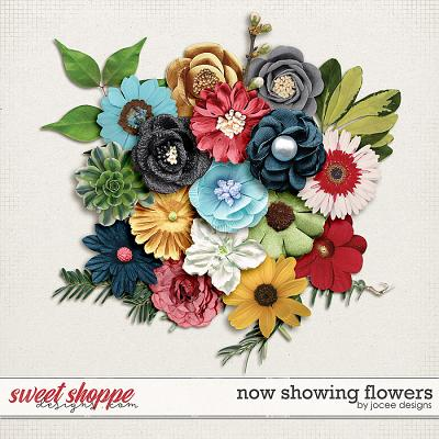Now Showing Flowers by JoCee Designs