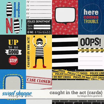 Caught in the act {cards} by Blagovesta Gosheva