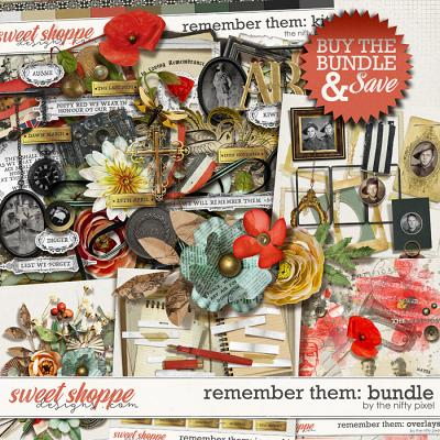 REMEMBER THEM | BUNDLE by The Nifty Pixel