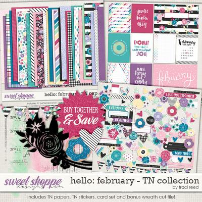Hello: February TN Collection by Traci Reed