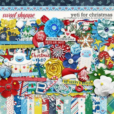 Yeti for Christmas by Meagan's Creations and WendyP Designs