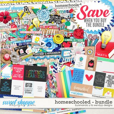 Homeschooled: Bundle by Amanda Yi & WendyP Designs