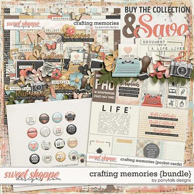 Crafting Memories Bundle by Ponytails