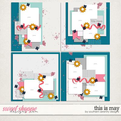 This is May Layered Templates by Southern Serenity Designs