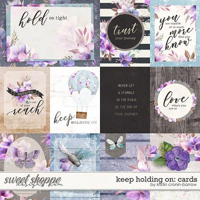 Keep Holding On: Cards by Kristin Cronin-Barrow
