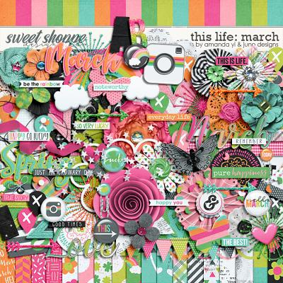 This Life: March by Amanda Yi & Juno Designs