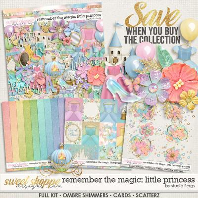 Remember the Magic: LITTLE PRINCESS- COLLECTION & *FWP* by Studio Flergs