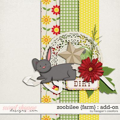 Zoobilee {Farm} : AddOn by Meagan's Creations