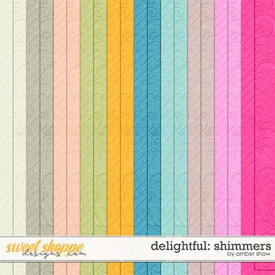 Delightful: Shimmers by Amber Shaw