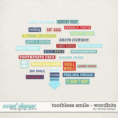 Toothless Smile: Wordbits by WendyP Designs