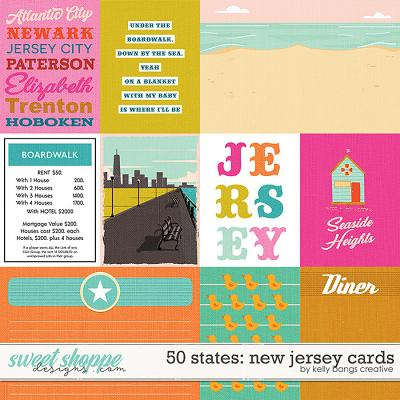 50 States: New Jersey Cards by Kelly Bangs Creative