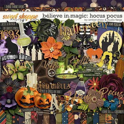 Believe in magic: Hocus Pocus by Amber Shaw & Studio Flergs