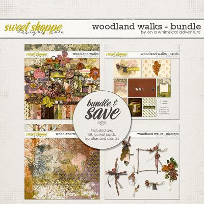 Woodland Walks Bundle by On A Whimsical Adventure