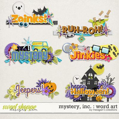 Mystery, Inc. : Word Art by Meagan's Creations