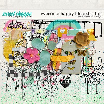 Awesome Happy Life Extra Bits by Studio Basic