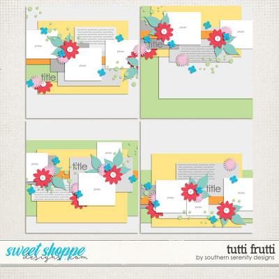 Tutti Frutti Layered Templates by Southern Serenity Designs