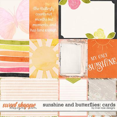 Sunshine & Butterflies: Cards by River Rose Designs