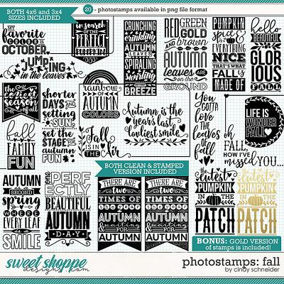 Cindy's Photostamps: Fall by Cindy Schneider