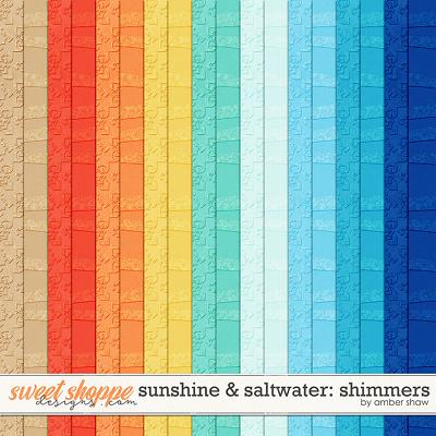 Sunshine & Saltwater: Shimmers by Amber Shaw