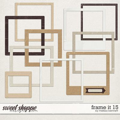 Frame it 15 by Melissa Bennett