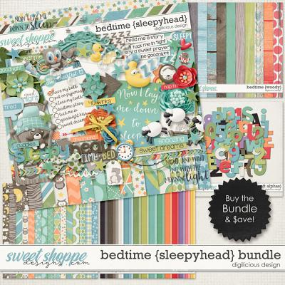 Bedtime {Sleepyhead} Bundle by Digilicious Design