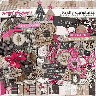 Krafty Christmas by Libby Pritchett & Melissa Bennett