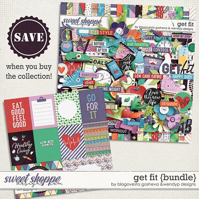 Get fit - Bundle by Blagovesta & WendyP Designs