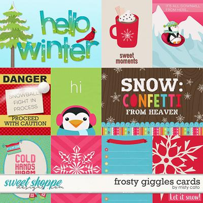 Frosty Giggles Cards by Misty Cato