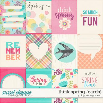Think Spring {cards} by Blagovesta Gosheva