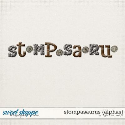 Stompasaurus {Alphas} by Digilicious Design