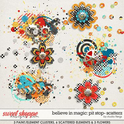 Believe in Magic: Pitstop - Scatterz by Studio Flergs