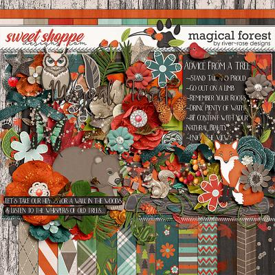 Magical Forest by River Rose Designs