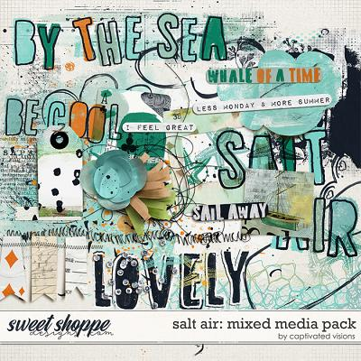 Salt Air: Mixed Media Pack by Captivated Visions