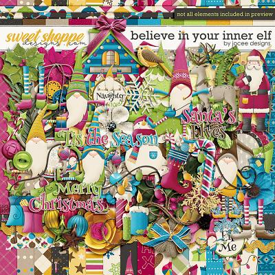 Believe in your inner Elf by JoCee Designs