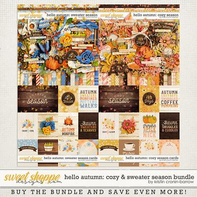 Hello Autumn: Cozy & Sweater Season Bundle by Kristin Cronin-Barrow
