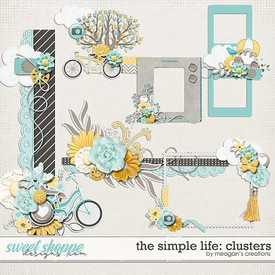 The Simple Life: Clusters by Meagan's Creations