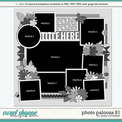 Cindy's Layered Templates - Photo Palooza 81 by Cindy Schneider